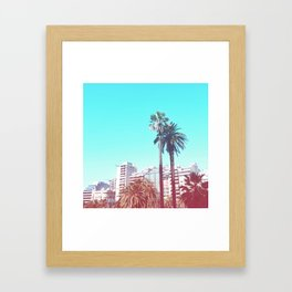 Summer in Buenos Aires Framed Art Print