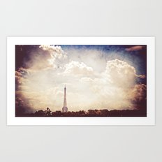 Paris in June Art Print