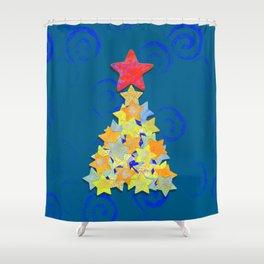 Tree of Stars Shower Curtain