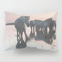 Camargue Horses I ... Pillow Sham