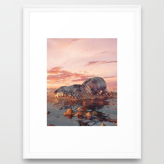 WE WERE GIANTS (everyday 01.29.19) Framed Art Print