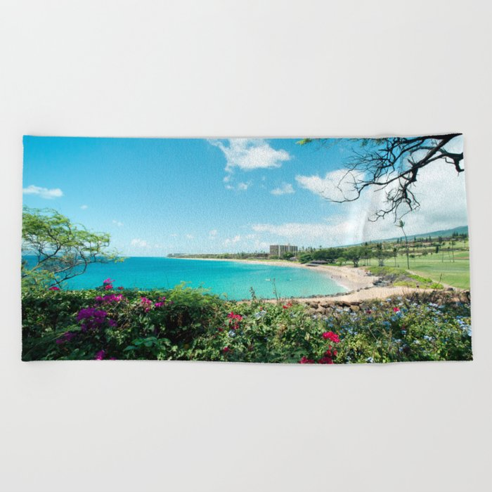 Kāʻanapali Beach Maui Hawaii Towel