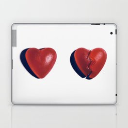 Heart/Broken Heart Laptop & iPad Skin