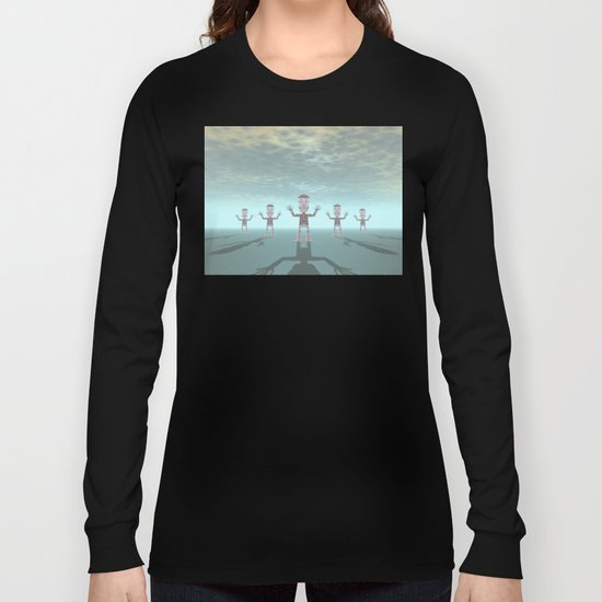 Characters Made of Stone Long Sleeve T-shirt