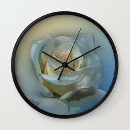 rose 2 Wall Clock