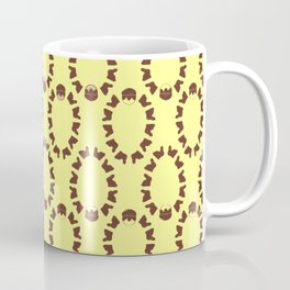 Easter Gifts Easter Eggs Pattern Happy Easter Coffee Mug