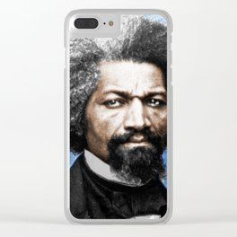 Frederick Douglass Painting In Color Clear iPhone Case