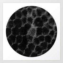 Geologic Unrede Art Print
