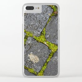 cobblestones Clear iPhone Case