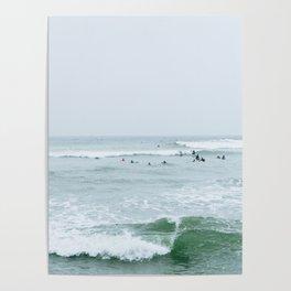 Tiny Surfers Lima, Peru 3 Poster
