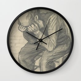 Worn Out Wall Clock