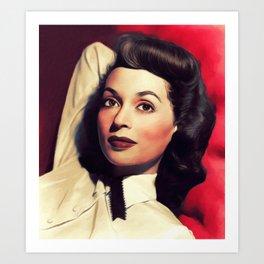 Lilli Palmer, Vintage Actress Art Print