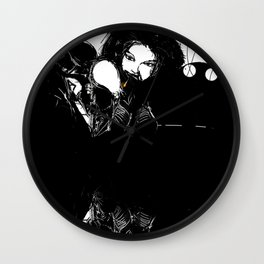 Lines are converging Wall Clock
