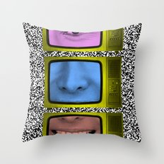 Finding americana Throw Pillow