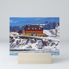 Le Chateau and the Sea Mini Art Print