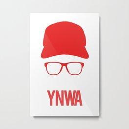 Liverpool YNWA - Klopp Metal Print