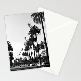 Los Angeles Black and White Stationery Cards