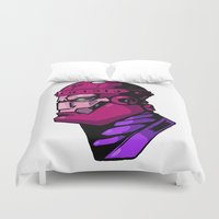 xmen Duvet Covers featuring x8 by jason st paul