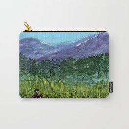 Alpine Lupine Carry-All Pouch