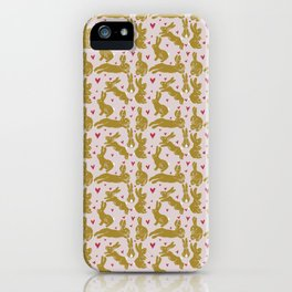 Bunny Love - Easter edition iPhone Case