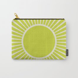 Chartreuse sun Carry-All Pouch