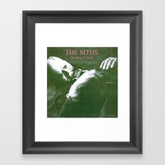 The Siths The King is Dead Framed Art Print