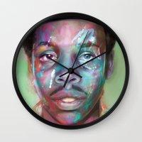 supreme Wall Clocks featuring true supreme by Matthew Asbury