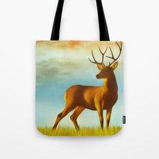 Morning Deer Tote Bag