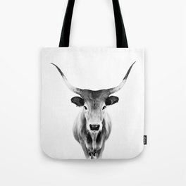Honey - black and white Tote Bag