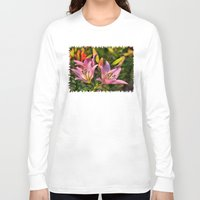 lily Long Sleeve T-shirts featuring lily by Karl-Heinz Lüpke