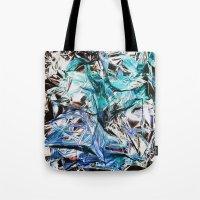 metallic Tote Bags featuring Metallic by Lara Gurney