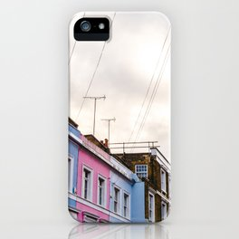 Dreamy Sky over Notting Hill, London iPhone Case