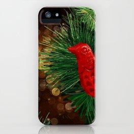 festive Dove iPhone Case