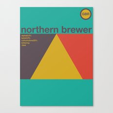 northern brewer single hop Canvas Print