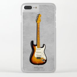 The 54 Stratocaster Clear iPhone Case