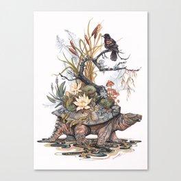 Goddess of the Swamp Canvas Print