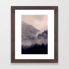 HIDDEN HILLS Framed Art Print