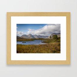 Lochan na h-Achlaise Framed Art Print