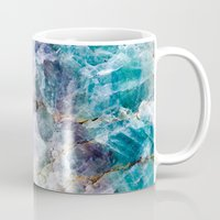 crystals Mugs featuring crystals  by lokyic