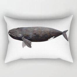Northern right whale (Eubalaena glacialis) Rectangular Pillow