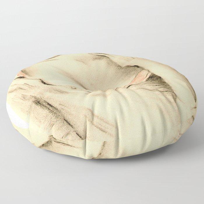 Aphrodite der Moderne Floor Pillow