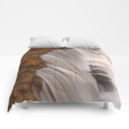 Tolliver Falls Close-up Comforters