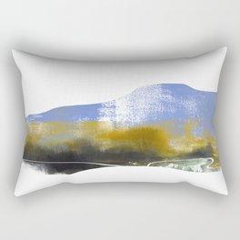 Blue Mountain Landscape, Mountainscape Rectangular Pillow