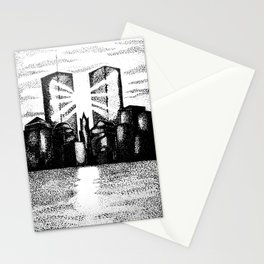 Twin Towers 9/11 Stationery Cards