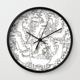 Dinosauriformes Wall Clock