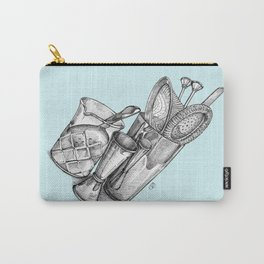 Bartender in turquoise Carry-All Pouch