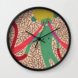 Pony Eyed Vectors Wall Clock