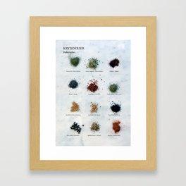 Krydderier #01 Framed Art Print