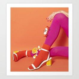 Table Legs Art Print
