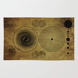 Ancient Spacemap Rug